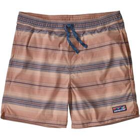 "Patagonia Stretch Wavefarer Volley Shorts 16"" Men, marrón/beige"